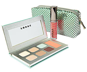 Lorac spring makeup bag and kit