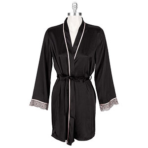 Linea Donatella Satin Wrap Robe