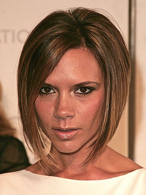 Victoria Beckham?s Asymmetrical Bob