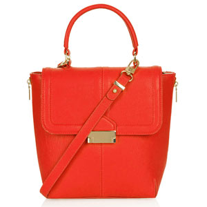 Topshop Orange Bag