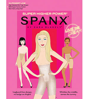 Spanx packaging