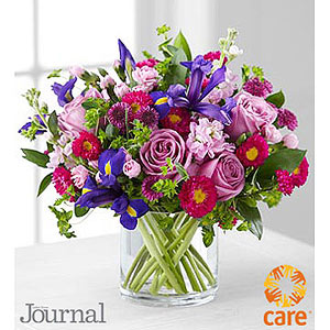 FTD flower arrangement ladies? home journal