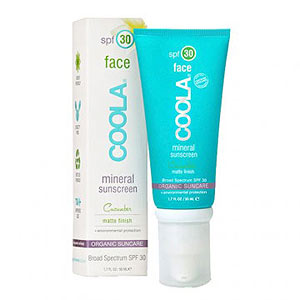 COOLA SPF 30 Matte Finish Cucumber for Face