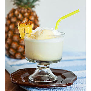 Pina Colada Float