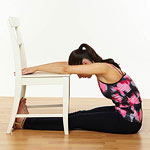 Head to chair pose 2