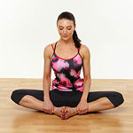 Seated bound angle pose
