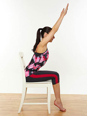 Upward Arm Stretch