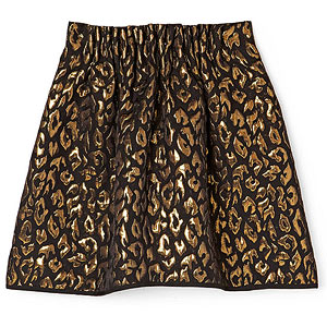 Kenneth Cole leopard skirt