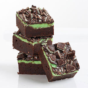 Fudge Mint Brownies