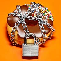 Donut in chains