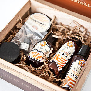 Portland General Store Apothecary Cigar Box Sample Set with Shave Cream