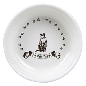ORE pet vintage Parisian bowl cat dish