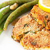 Salmon Croquettes with Lemon Caper Sauce