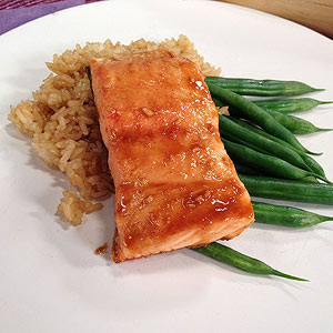 Joy Bauer's Hoisin-Glazed Salmon