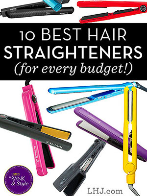 Hair straighteners pin