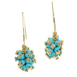 Michael Valtutti Turquoise Earrings