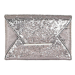 BCBG Sequin Envelope Clutch