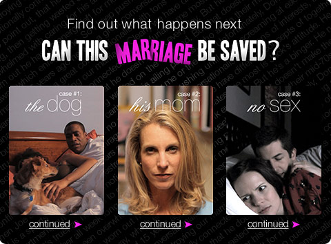 Find out what happens next - Can This Marriage Be Saved?