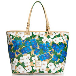 Dooney & Bourke Flowers Leisure Shopper