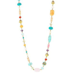 Ralph Lauren Multi-Color Beaded Necklace