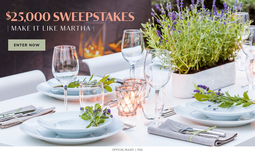 Make it Like Martha $25,000 Sweepstakes