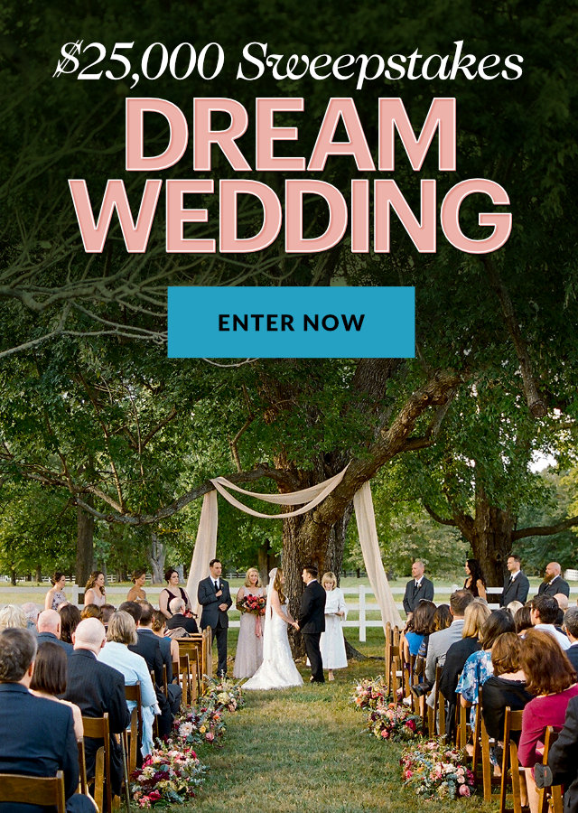 Dream Wedding $25,000 Sweepstakes