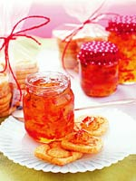 Holiday Pepper Jelly and Cheesy Biscuits