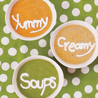 Yummy Creamy Vegetable Soups