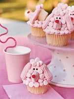 Pretty Pretty Poodles Cupcakes
