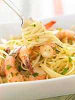 Shrimp Scampi Pasta