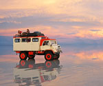 Higham family stuck on Salar de Uyuni