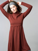 Nursing Turtleneck Dress