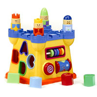 Infantino Shape-Sorting Castle