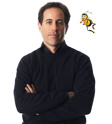 jerry seinfeld bees. Bee Movie. Jerry Seinfeld