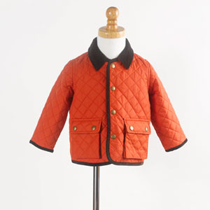 Lands? End Baby Coed Quilted Coat