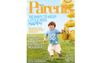 Parents Magazine April 2008