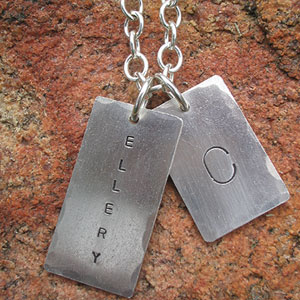Tag Necklace by Chris Bolton