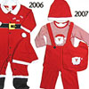 Santa Outfit 2006 & 2007