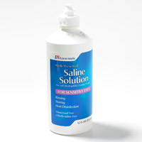 Contact Lens Solution for Congestion