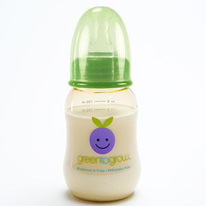 Green to Grow BPA-Free Baby Bottle 5 oz Regular Neck