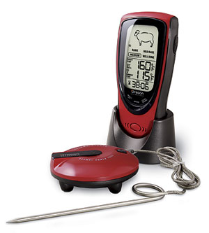 Talking Wireless BBQ Thermometer