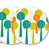 Family Tree plate favors