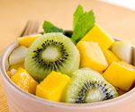 mangoes and kiwi