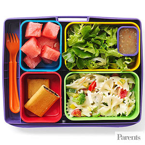 Healthy snacks for lunch at school