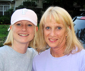 Jacki Donaldson and Mom