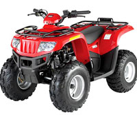 Arcttic Cat DVX Model ATV Recall