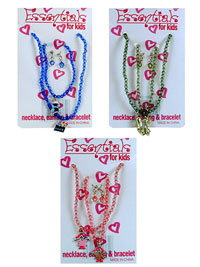 Necklace, Bracelet & Earring Set Recall