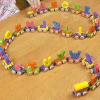 Magnetic Toy Train Set Recall