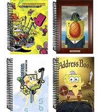 SpongeBob SquarePants Address Book Recall