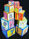 eeBoo Tot Tower Toy Blocks photo